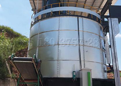 Fermenting Pot for Organic Fertilizer Production