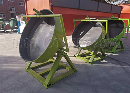 Pan type compound fertilizer granulating equipment
