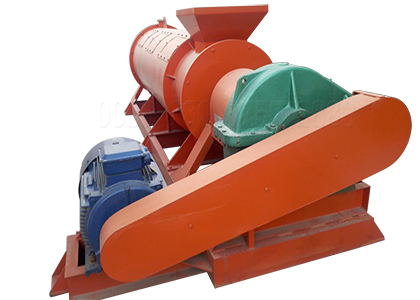 Patent compost fertilizer granulator