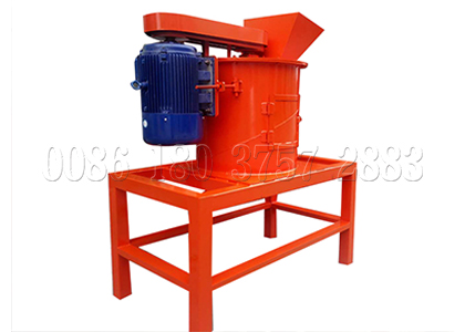 Pulverizing machine for making composted fertilizer powder