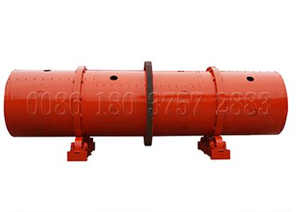 Rotating granulator for large scale organic fertilizer manufacturer