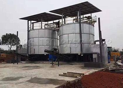 Waste to Fertilizer Fermenting Machine