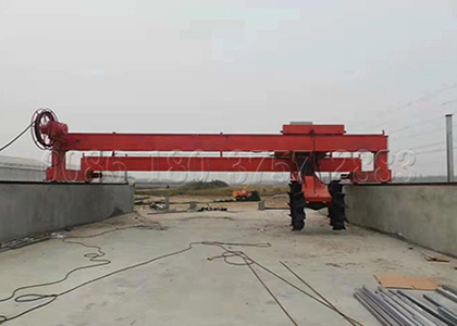 Wheel Type Compost Turner Making Machine