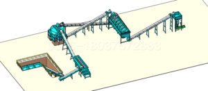 bentonite pellet production line