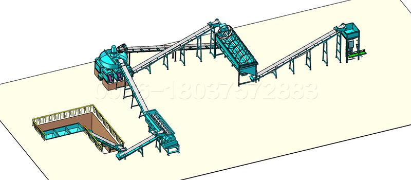 bentonite pellet production line