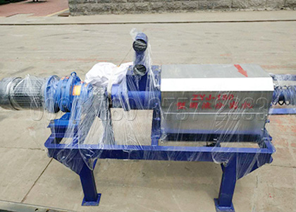 chicken manure dewatering machine