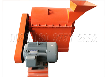 crushing machine for organic powdery fertilizer making