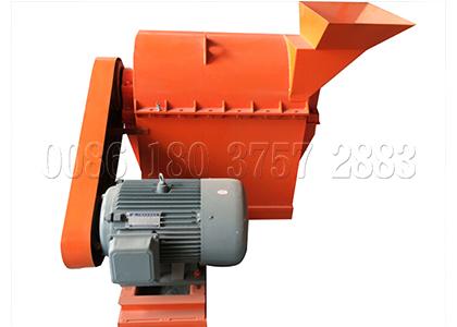 crushing machine for organic powdery fertilizer making
