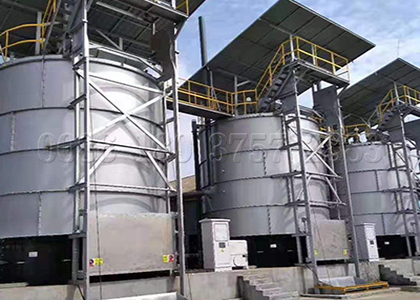 organic manure fertilizer fermenting equipment
