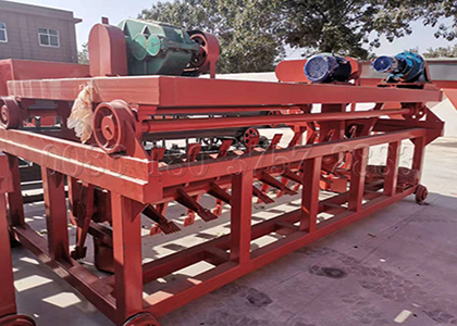 organic waste compost turner machine