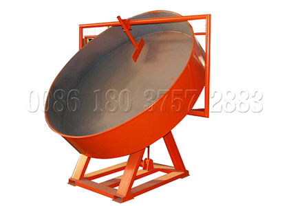 pan type waste fertilizer pelletizer