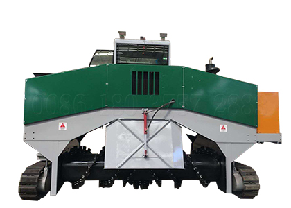 Crawler Type Compost Turner