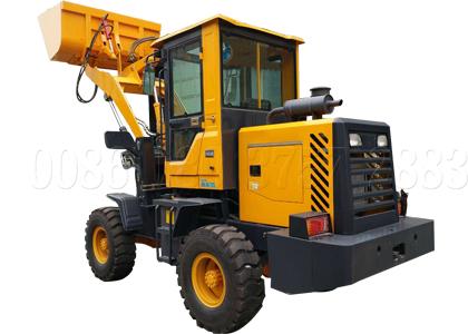 Forklift type compost turner