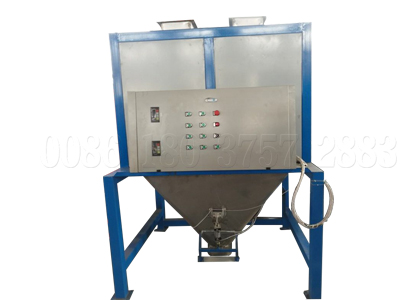 Powdery fertilizer packing machine for composted fertilizer manufacturing