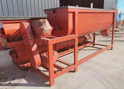 Single Shaft Fertilizer Mixing Machine