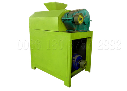 Dry type roller press NPK fertilizer granules pelletizer