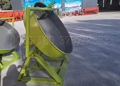 Pan type NPK fertilizer granulation equipment